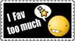 Fav too much - Stamp by Tadadada