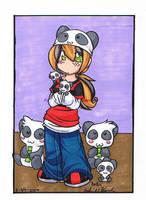 Panda Girl by Britno