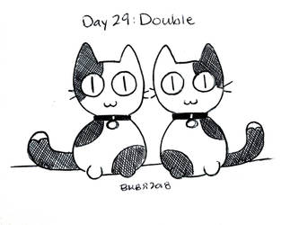 Inktober Day 29: Double by Britno