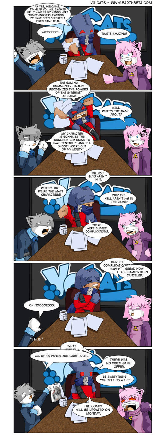 Vg Cats Guest comic by Kento517