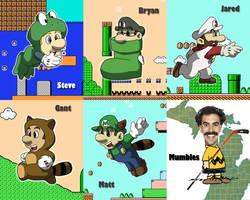 Mario Suits by Kento517