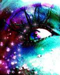 rainbow eye by nana63