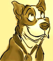 Sgt. Stubby by clevercartoon-er