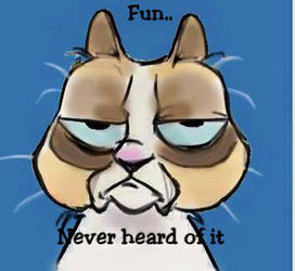 Fun??.. Never heard of it by clevercartoon-er
