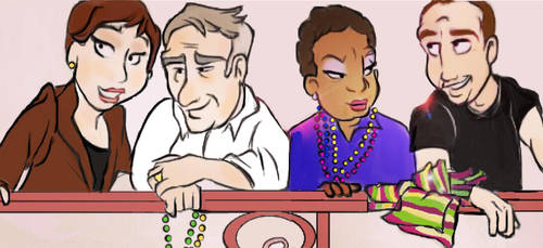 NCIS New Orleans by clevercartoon-er