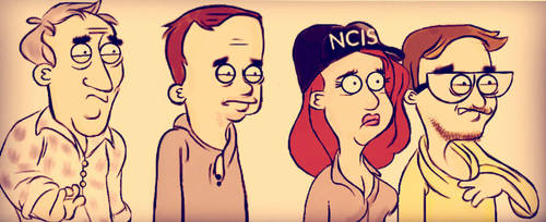 NCIS Paradise by clevercartoon-er