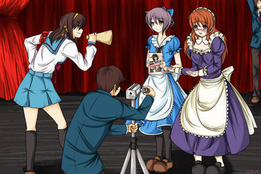 Suzumiya Haruhi no Friends by Zearth95