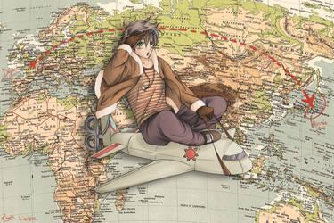 Traveler by Zearth95