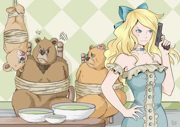 Goldilocks and the Three Bears by Zearth95