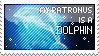 Dolphin Patronus Stamp by Fayven