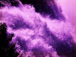 purple splash by mysteriousfantasy