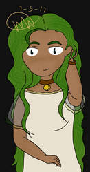 Green is a good color right? by SunaMarki