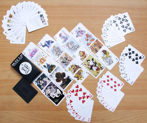 Suit Up - Playing Cards by lounge-acting