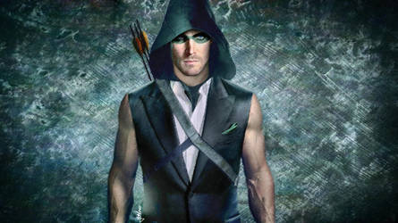 Oliver Queen The Arrow by yunkaerphotographic