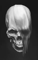 Skull study_01 by advexdesign