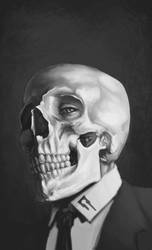 Skull study_02 by advexdesign