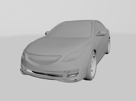 3D car model - front by okofrancisco