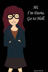 Daria - go to hell. by Ghostworld-uk