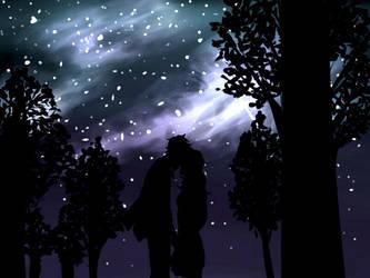 Under the Light of a Thousands Stars by Gabi182