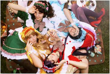 Sailor Moon Inner Maids by elsch