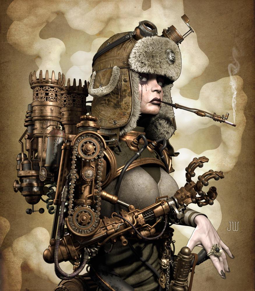 'Steam Girl' by ZephyrChef