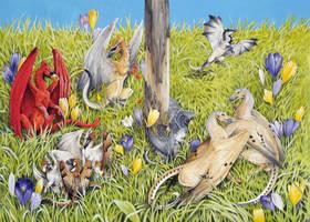 Dragonbird feeder: Bottom by Hbruton