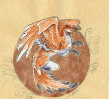 Fox Gryphon Collage by Hbruton