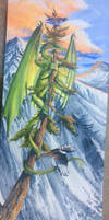 As yet untitled dragon by Hbruton