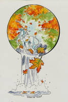 Inktober 7 colour by Hbruton