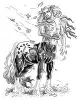 Autumn Centaur by Hbruton