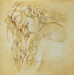 Beaded Elf by Hbruton
