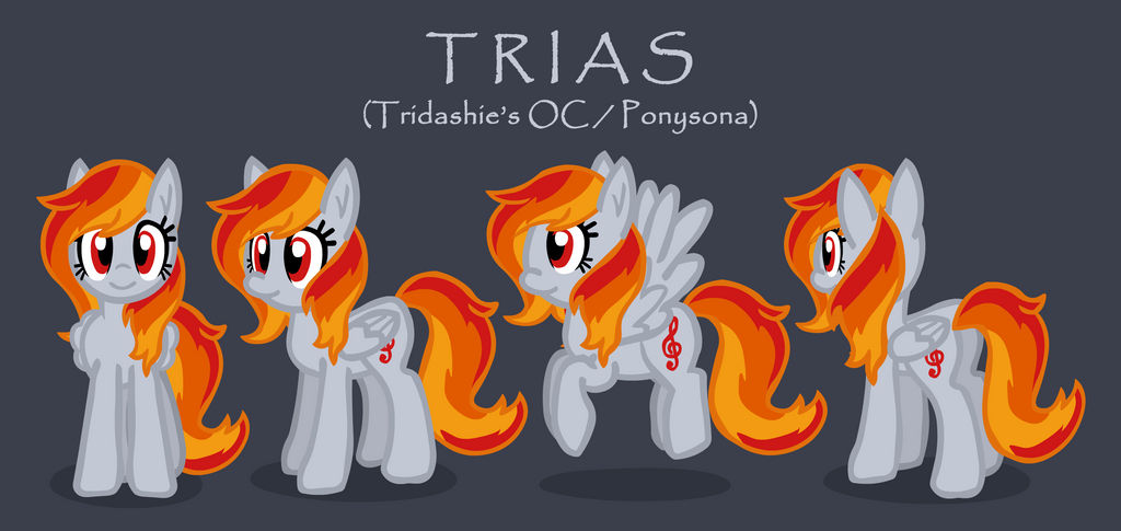 Trias (Tridashie's OC/Ponysona) by Tridashie