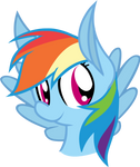Rainbow Dash Avatar by Tridashie