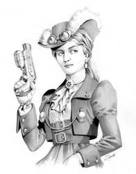 Lady Steam by ZambiCXS