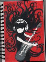 Emily the Strange by QemicalKid