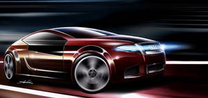 Audi a4 Coupe updated by carlexdesign