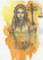 Praiosgeweihte Rhianna by Hyacinthley