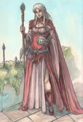 Phyllis - Magierin aus Belhanka by Hyacinthley