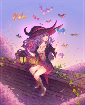 Candy witch by Kawaii-SoupBowl