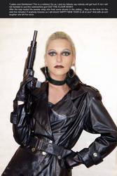 Female Jewely Robber with UZI by cumo73
