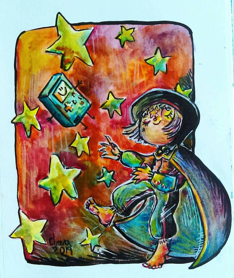 Baile de estrellas by LinkzaurousRAW
