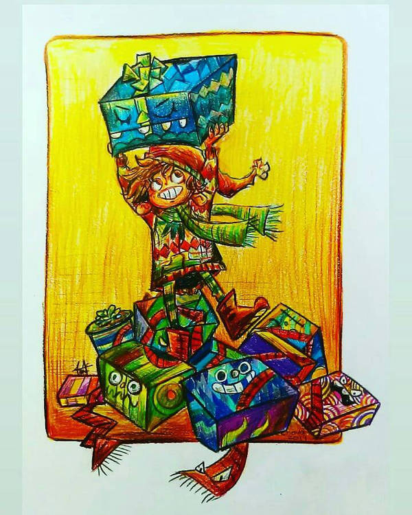 Regalos coloridos by LinkzaurousRAW