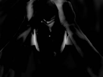 me in dark by saadabd2211