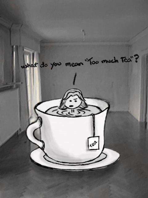 Tea diving - Gift art by devil-in-grey