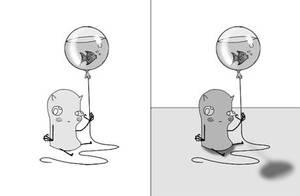 Balloon Denizen by devil-in-grey