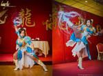 The Legend of Art Nouveau Chun Li by Benny-Lee