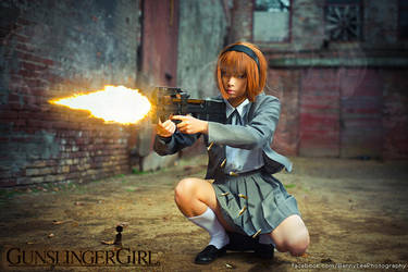 Gunslinger Girl: The Girl with mechanical body by Benny-Lee