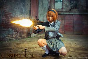 Gunslinger Girl: The Girl with mechanical body by Benny-Lee