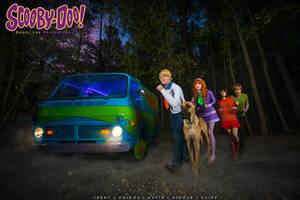 Scooby Doo - Let's Split up Gang by Benny-Lee