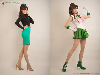 Sailor Jupiter - Agent of Love and Courage by Benny-Lee